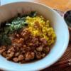 男子ごはん【鶏そぼろ丼】めんつゆで簡単に!お弁当にも使える新生活応援定番レシピ(